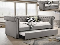 Ellie Gray Twin Daybed with Trundle   5332 Houston