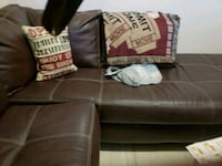 Price Drop!!!Brown Leather Sectional!! El Paso, 79934