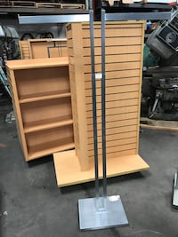 Double Sided Retail Clothing Racks Display/Fixture