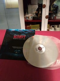 Laser disc Misery by Stephen King Gary