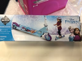 New Huffy Frozen Scooter