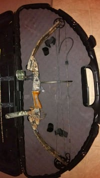 brown and black compound bow Plainwell, 49080