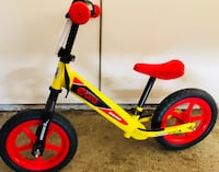Toddler's red and black bicycle The Village, 73120