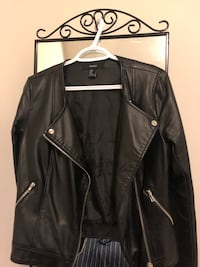 FOREVER 21 Leather Jacket - Small Markham