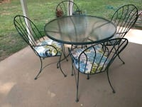 Table and 4 chairs 5pc Patio set Price is firm Duluth, 30096