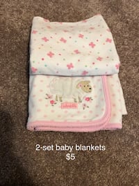 Set of 2 baby blankets  Columbia, 21045