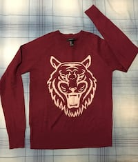 Burgundy Lightweight Sweater Toronto, M3J 1P1