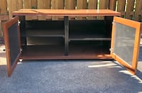 brown wooden 3-layer shelf Washington, 20024