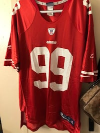 Red nfl football jersey Fremont, 94538