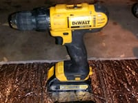 yellow and black DeWalt cordless power drill Stockton, 95204
