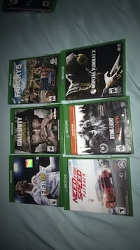 Xbox one games in perfect condition Plainfield, 07060
