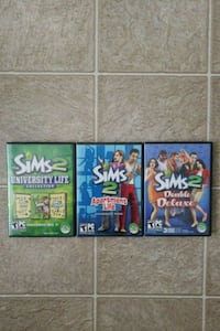 The Sims 2 PC Video Game (Set of 3) Manassas, 20109
