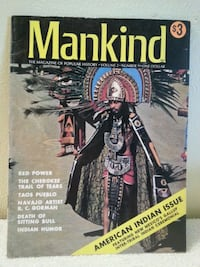 American Indian Issue of Mankind Magazine  Saint Helens, 97051
