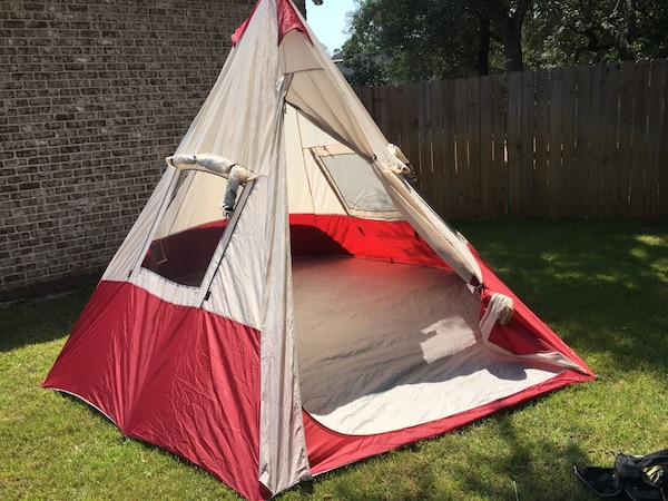low priced 9291a dfbef 7-person ozark trail teepee tent
