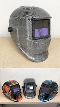 New $30 each Welding Helmet Auto Darkening Solar Grinding Mask Plasma, 3 Designs South El Monte