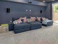 Ikea sectional, chaise and ottoman-brand new Ashburn, 20148