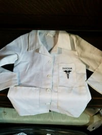 Costume doctor jacket size 4 toddler Stockton, 95210