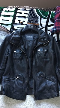 Size small leather jacket