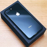 black iPhone 7 with box 14 km
