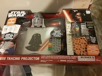 Star Wars deluxe tracing projector box Youngstown