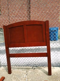 brown wooden bed headboard and footboard St. Louis, 63123
