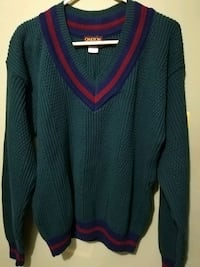 Oakton Limited Men's Sweater Medium V Neck Lorton, 22079