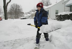 I'll shovel your driveway for you