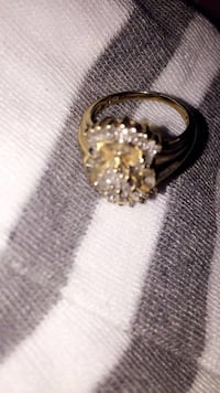 14k gold with real diamonds engagement ring Fresno, 93705