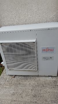 Fujitsu Split Air conditioner Used with Sensor Issue ( Dix Hills