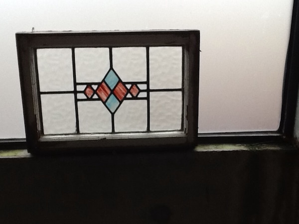 "FOR SERIOUS BUYERS ONLY 12""x24"" Stained glass window paint"