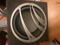 "Q Logic 15"" subwoofer CRAZY BASS!"