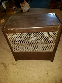 Space heater (natural gas ) used