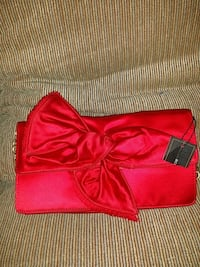 red leather crossbody bag with fringe
