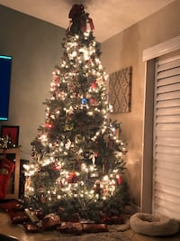 9 Ft. artificial Christmas tree!