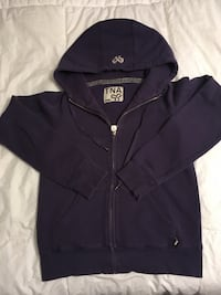 Tna purple hoodie, gently worn on cuff, north nanaimo, ns home, SMALL