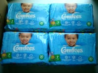 Comfees Pampers 53 km