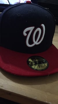 red and black New Era snapback cap Purcellville, 20132