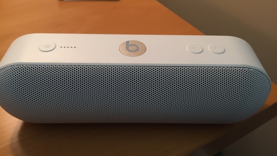 Beats pill by Dre.