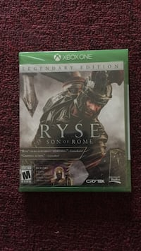Ryse son of Rome unopened Legendary Edition. Provo, 84604
