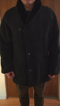 NEW men's suede coat  Ottawa, K1T
