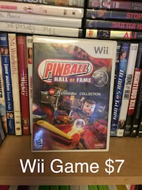 ##    Pinball Hall Of Fame ~ Wii Game Asheville
