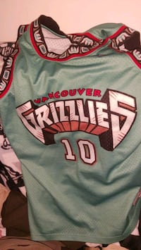 Vancouver grizzlies Jersey Burnaby, V5B 2N6