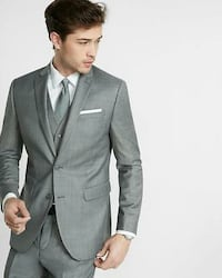 Men's Fitted 4 Piece Suit