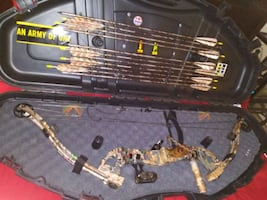 a BOW all  the Works and carrying CASE, $200 Dollars.