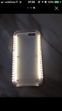Cover iPhone 6s con luce si illumina