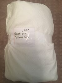 White Queen Size Mattress Cover  Fort Worth, 76131