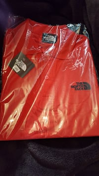 Men's Red North Polo Top Orpington, BR5 2HL