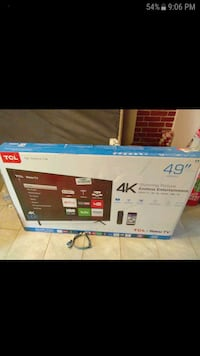 49 inch TV 4k TCL. Brand new, price firm Cypress, 77429