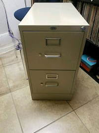 gray metal 2-drawer filing cabinet Orlando, 32839