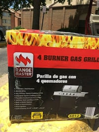 4 burner gas grill stainless steel  Annandale